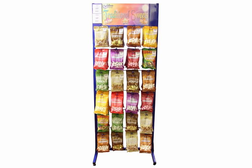 Prepack Bag Fixed Display Stand