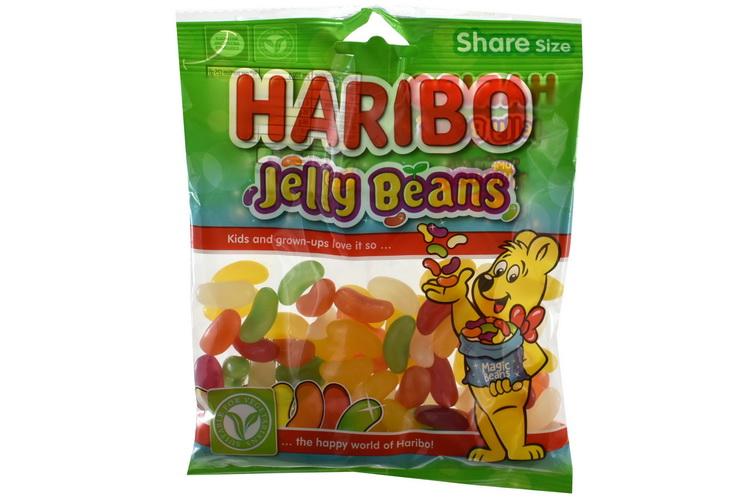 140g Jelly Beans Prepack - Haribo
