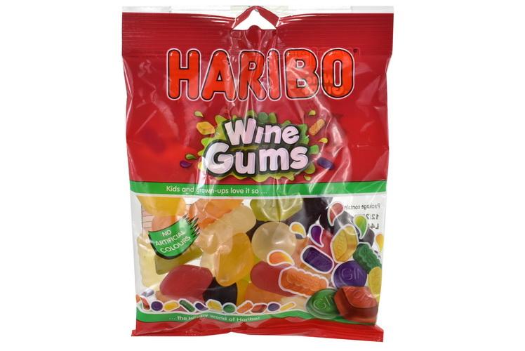 140g Wine Gums Prepack - Haribo