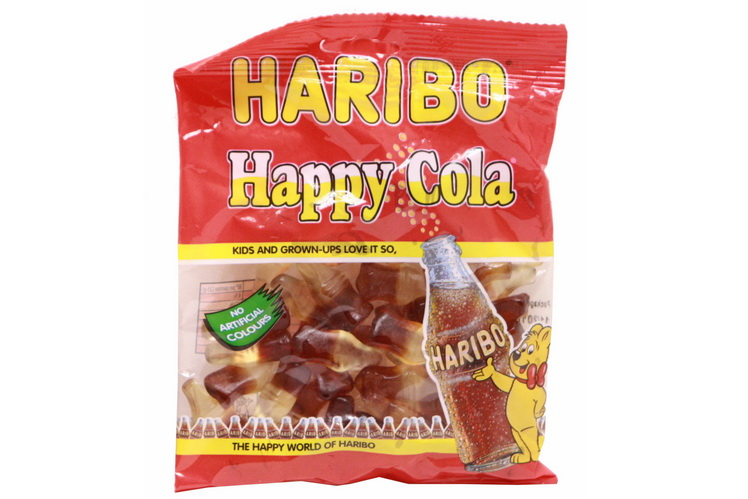 140g Happy Cola Prepack - Haribo
