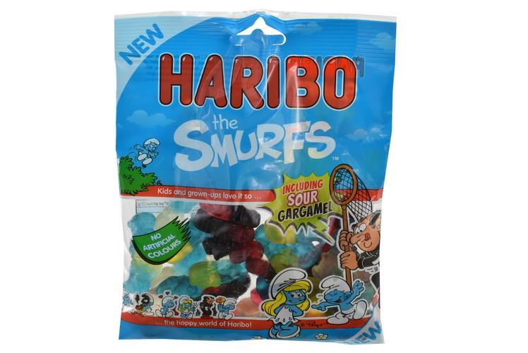 140g The Smurfs Prepack - Haribo