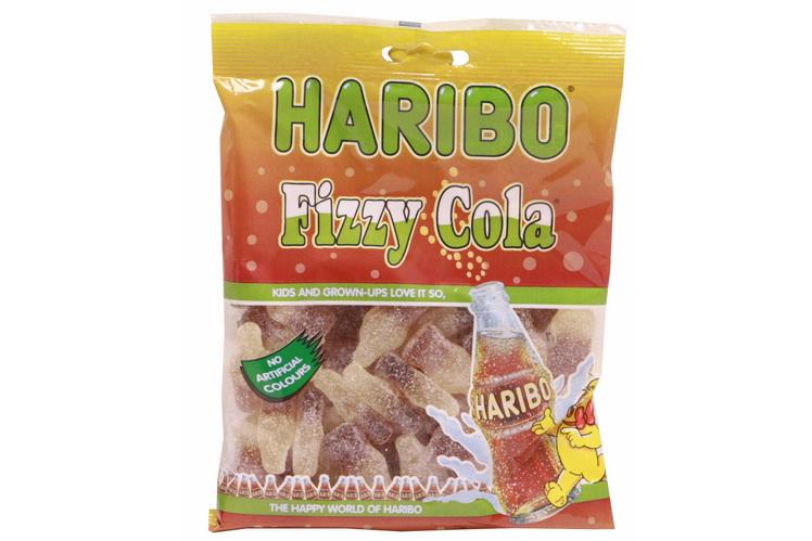 140g Fizzy Cola Bottles Prepack - Haribo