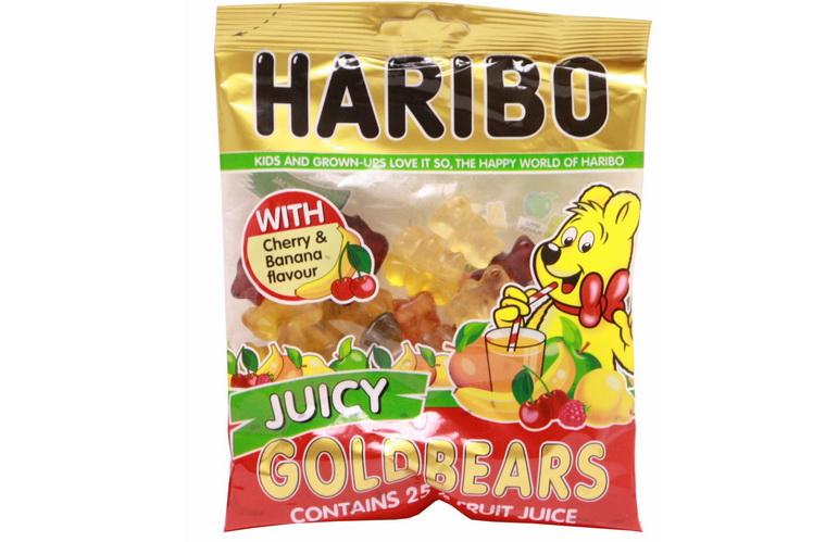 140g Juicy Gold Bears Prepack - Haribo