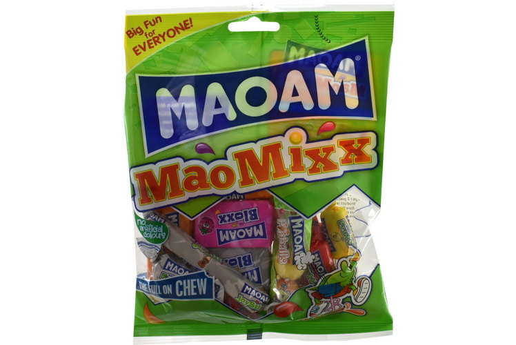 140g Mao Mix Fruit Chews Prepack - Haribo