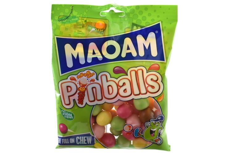 140g Maoam Pinballs Prepack - Haribo