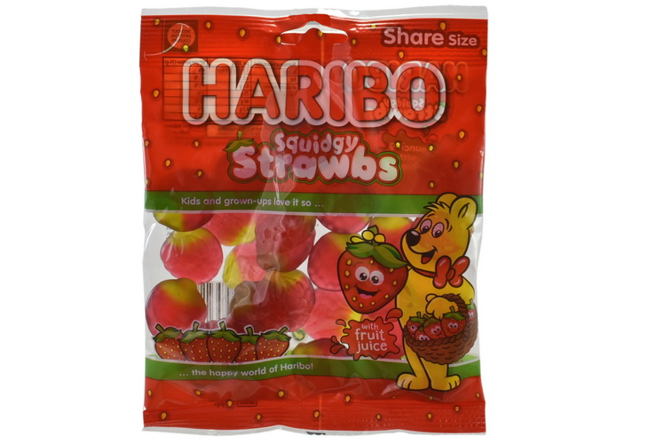 140g Strawbs Prepack - Haribo