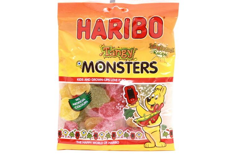 140g Super Sour Tangy Monsters Prepack - Haribo