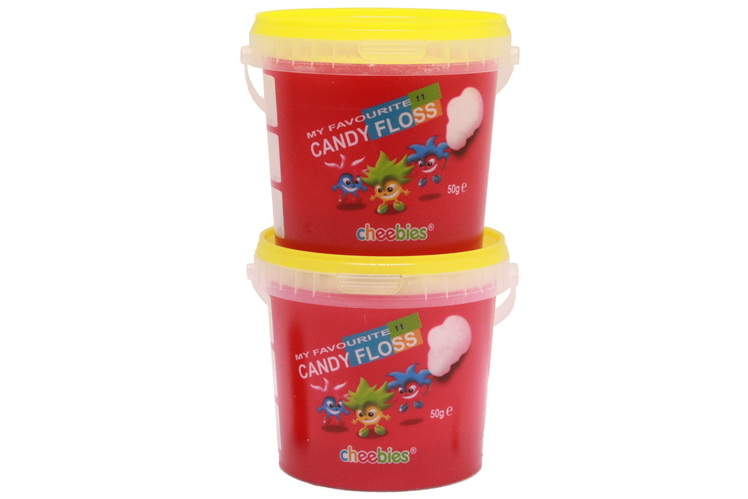 50g Tub Of Candy Floss