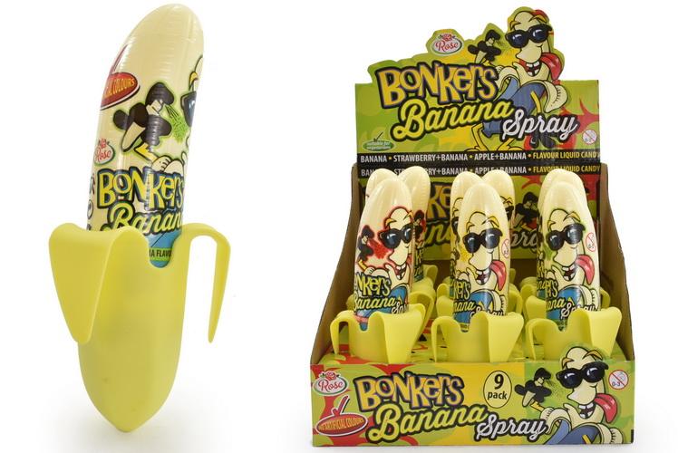 Bonkers Banana Spray In Display Box