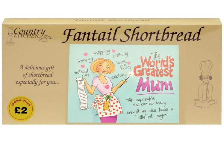 "250g ""Mum"" Biscuit Postcard Box"