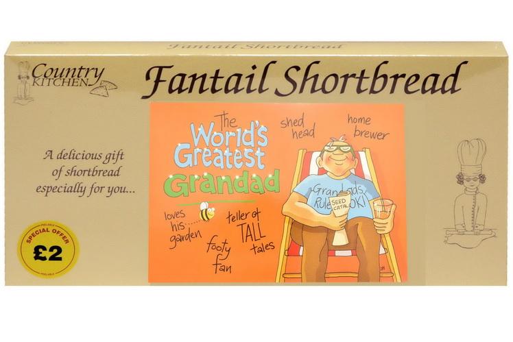 "250g ""Greatest Grandad"" Biscuit Postcard Box"