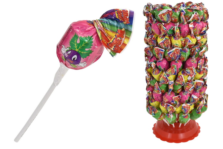 Fruit Tree Lolly In Display Stand