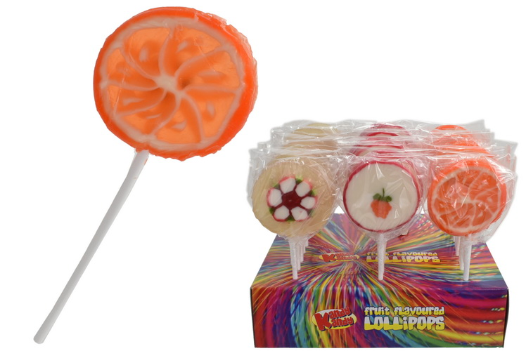 Real Fruit Lolly In Display Box