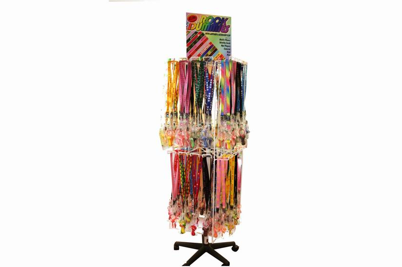 Stand For Lanyards With Rock Dummies x 32 Pegs