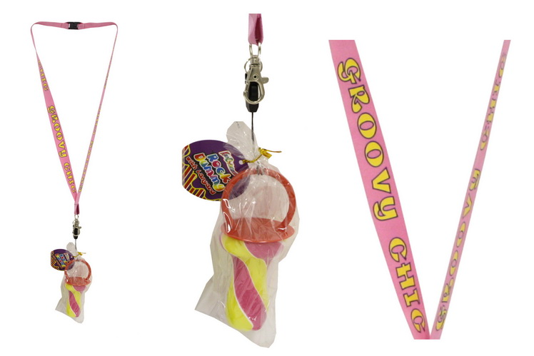 Groovy Chic Lanyard With Rock Dummy