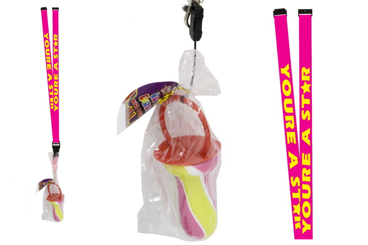 You'Re A Star Lanyard With Rock Dummy