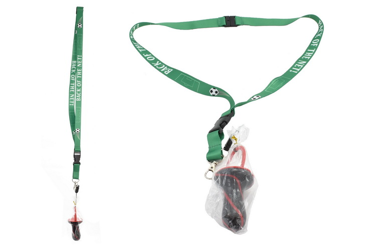 Back Of The Net Lanyard With Rock Dummy