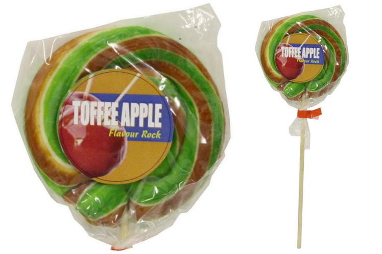 """Toffee Apple"" Wheel Lollies"