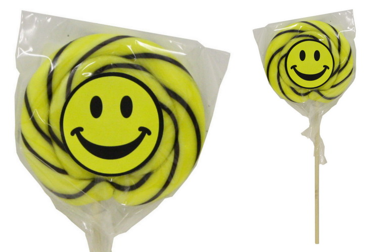 """Smiley"" Wheel Lollies"
