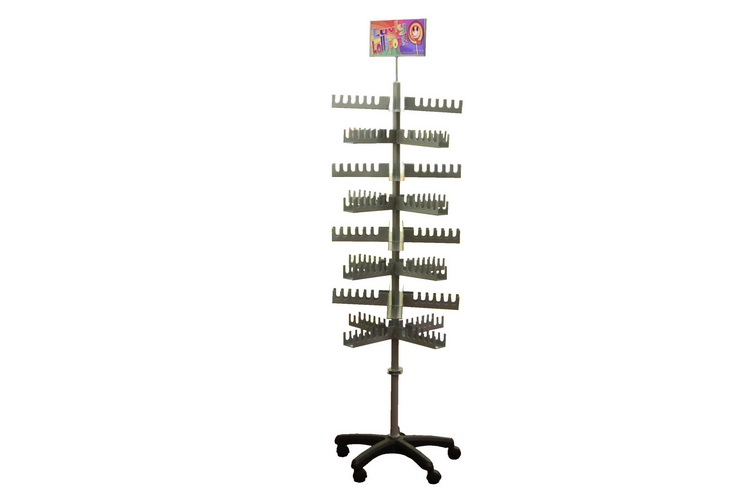 Catherine Wheel Lolly Stand Holds 192pc