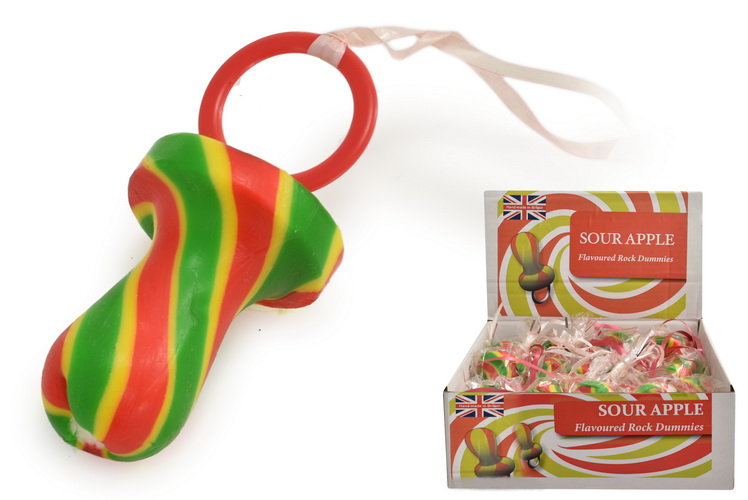 Sour Apple Flavoured Dummies In Display Box