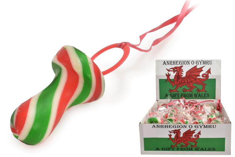Welsh Flag Dummies In Display Box