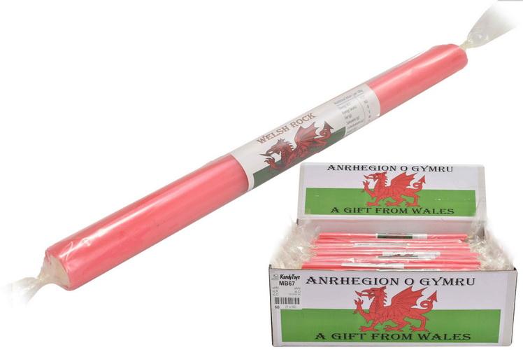 Welsh Flag - Flavoured Rock Sticks
