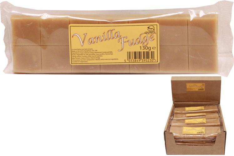 130g Vanilla Fudge Bar
