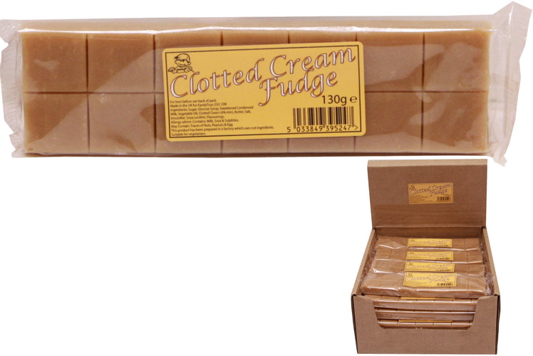 130g Clotted Cream Fudge Bar