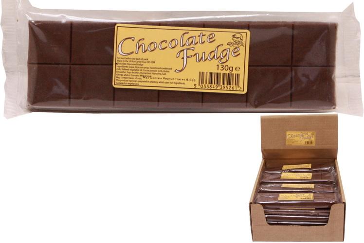 130g Chocolate Flavour Fudge Bar