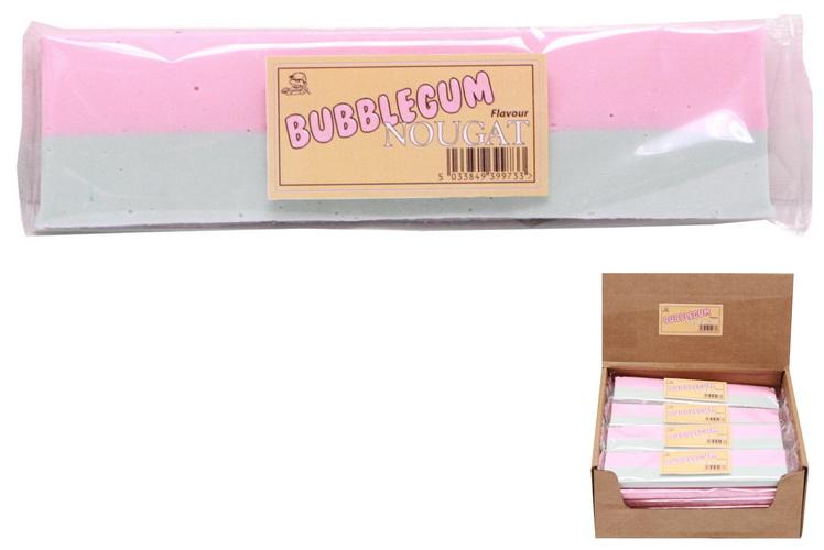 130g Bubblegum Flavour Nougat Bar