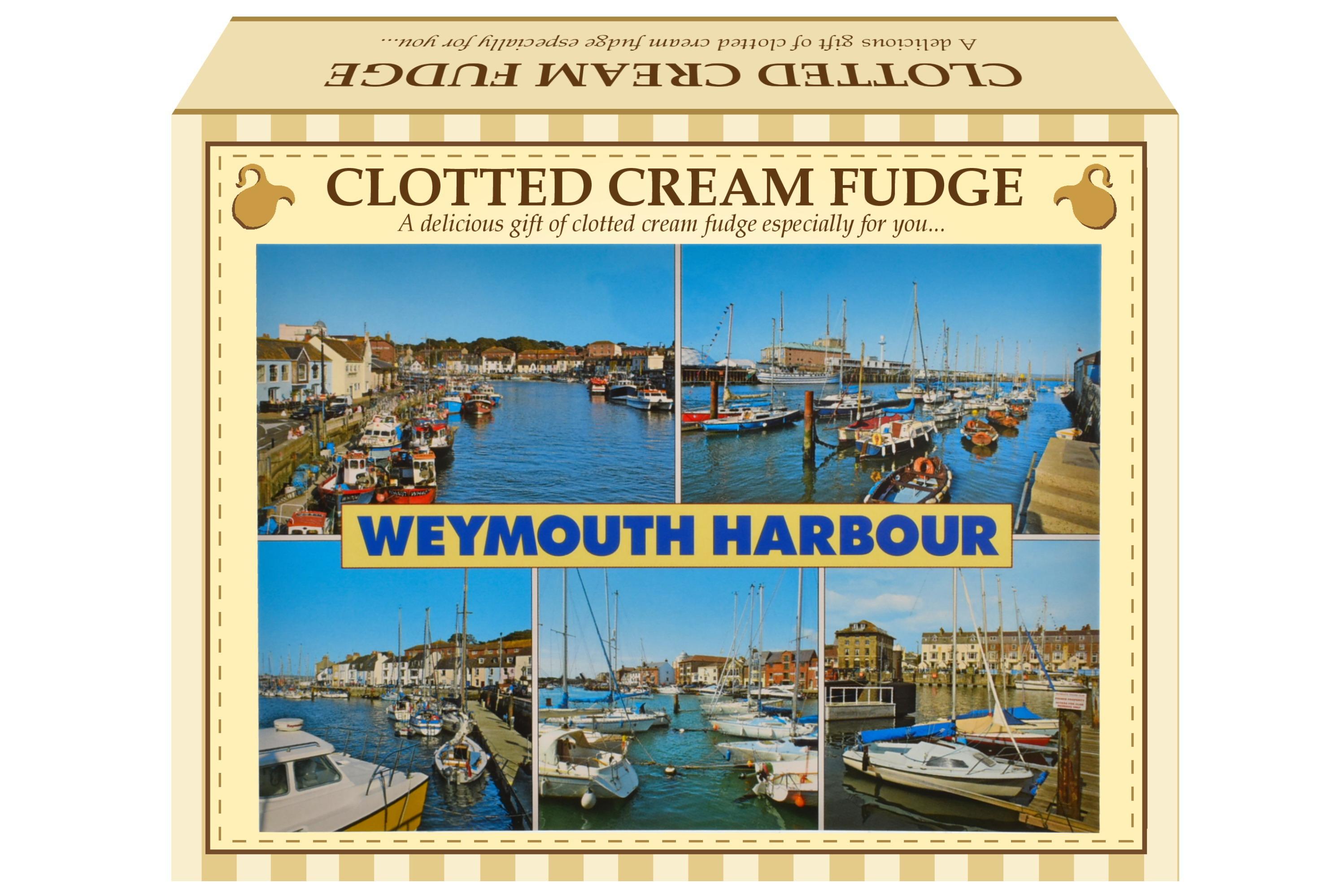 100g Clotted Cream Fudge Postcard Gift Box