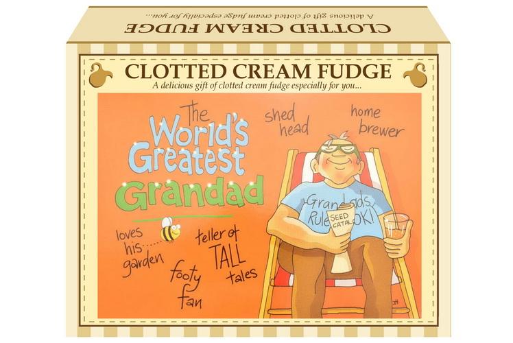 "100g C/C Fudge ""Greatest Grandad "" Postcard Gift Box"