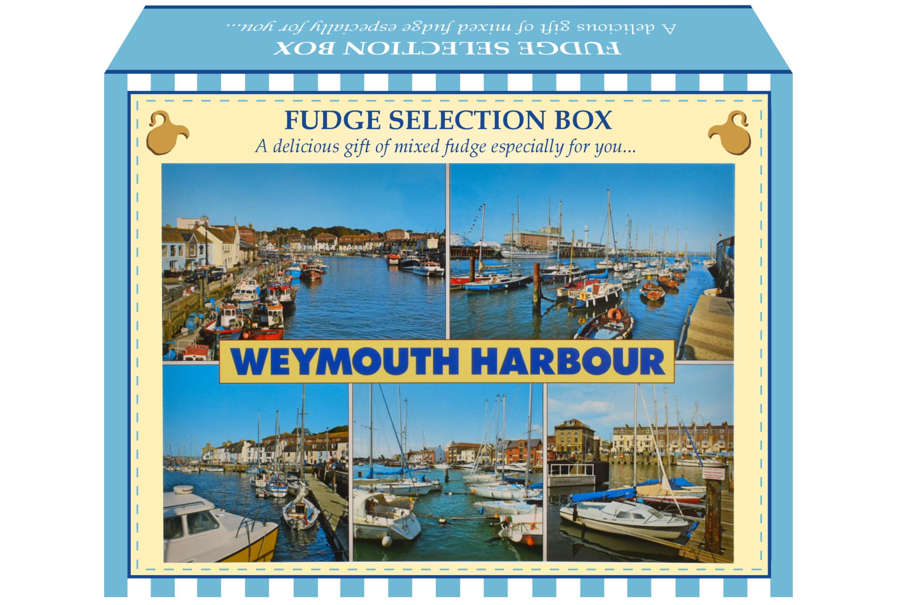 100g Mixed Fudge Postcard Gift Box