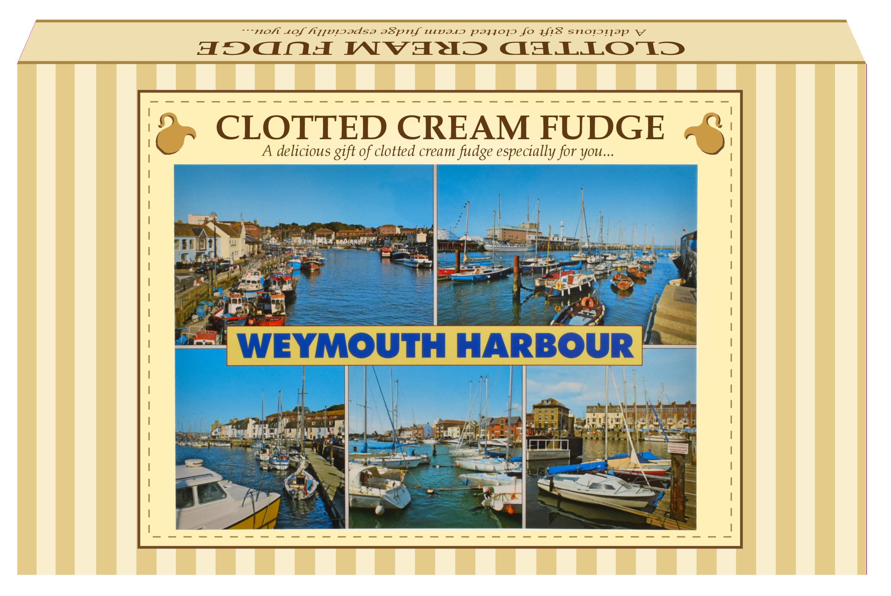 300g Clotted Cream Fudge Postcard Gift Box