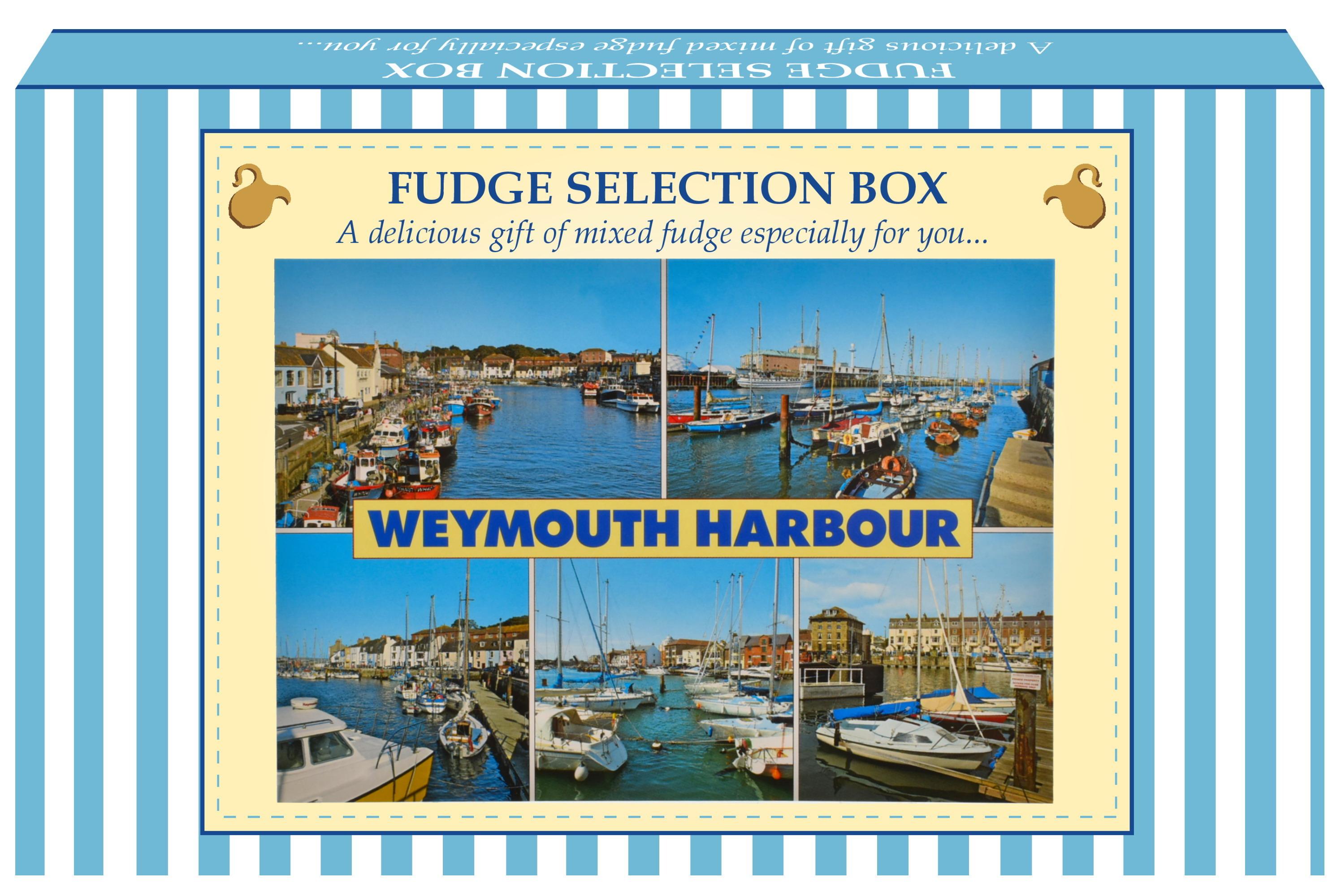 300g Mixed Fudge Postcard Gift Box