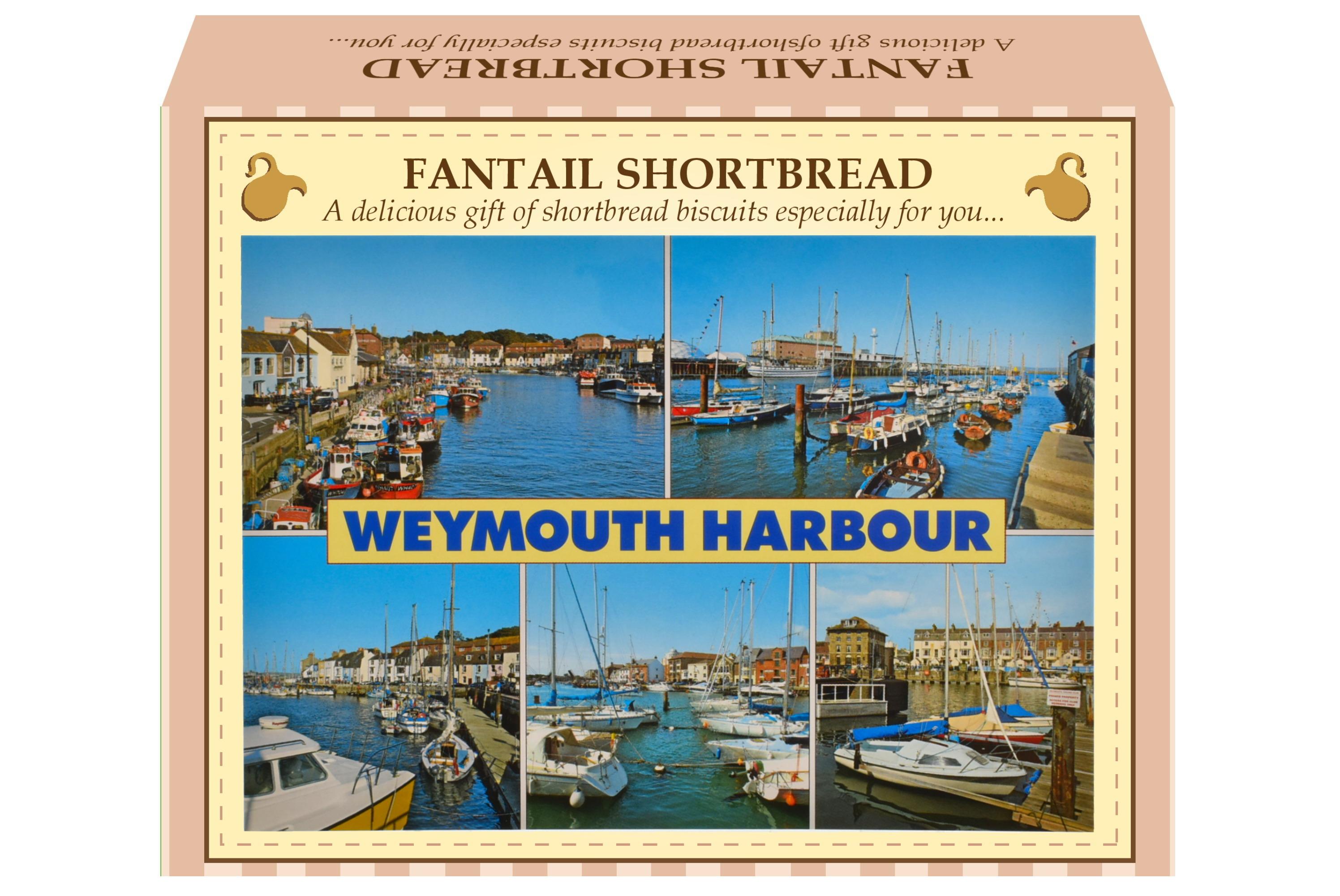 125g Fantail Shortbread Postcard Gift Box