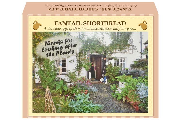"125g Fantail Shortbread ""Plant"" Postcard Gift Box"
