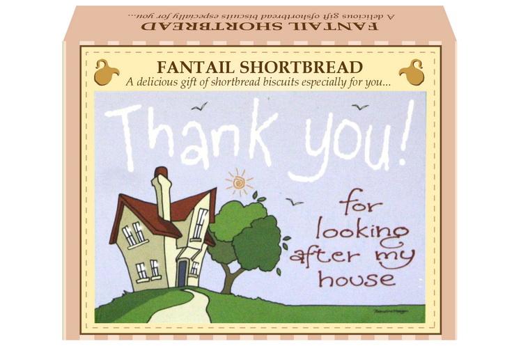 "125g Fantail Shortbread & ""Home"" Postcard Gift Box"