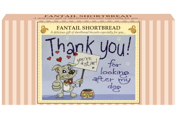 "250g Fantail S/Bread & ""Dog"" Postcard Gift Box"