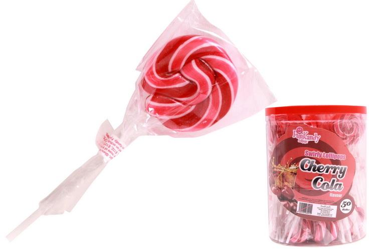 Cherry Cola Lolly