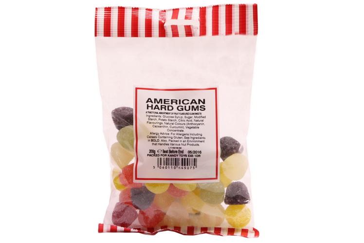 200g American Hard Gums - Prepack
