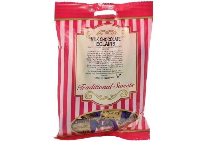 150g Milk Chocolate Eclairs - Prepack
