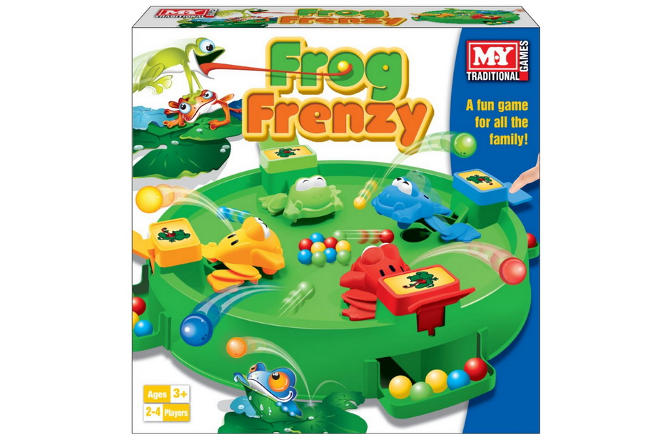 "Frog Frenzy Game In Window Box ""M.Y"""