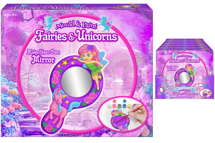 Make Your Own Mirror Set In Colour Box / Pdq 200g