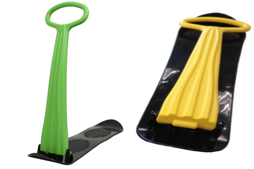 Plastic Snow Scooter 3 Assorted Colours