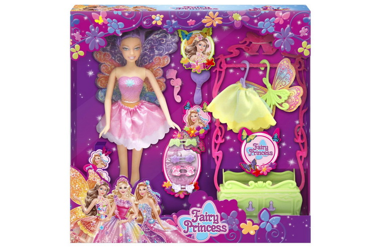 Fairy Doll Playset (3 Assorted) In Window Box