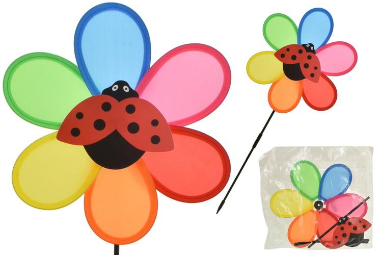 Ladybird Windmill (Bag/Headercard) In Pdq Box