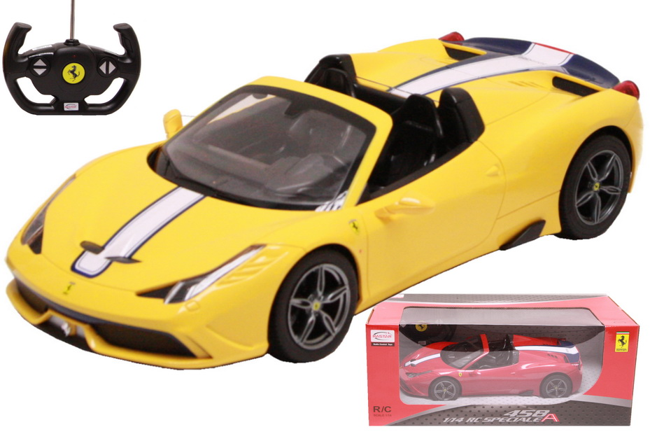 R/C Ferrari 458 Speciale A 1:14sc (2 Asst) In Window Bx