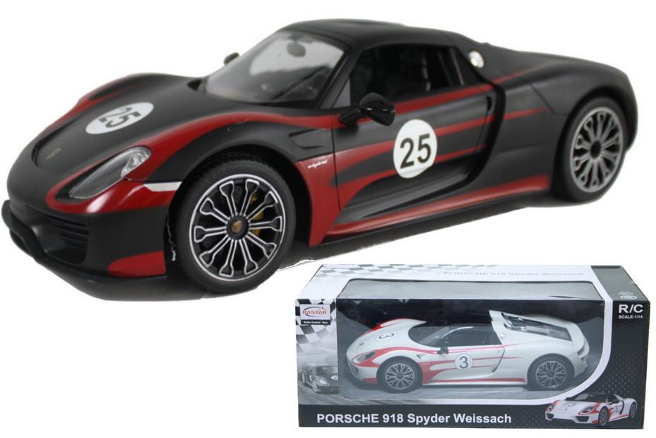 1:14sc R/C Porsche 918 Spyder In Window Box